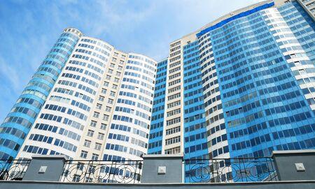 The facade of a modern apartment building Stock Photo - 7384540