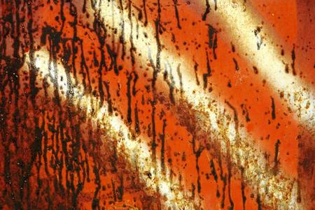 slantwise: Closeup dello sfondo metallo arrugginito grunge Archivio Fotografico