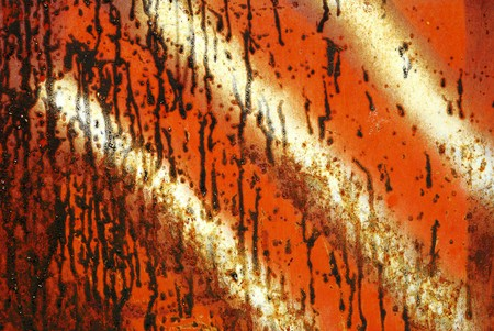 Closeup of the rusty grunge metal background Stock Photo - 7876834