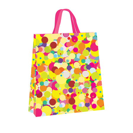 Colorful shopping bag Vettoriali
