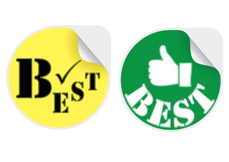 best products: Best products stickers set