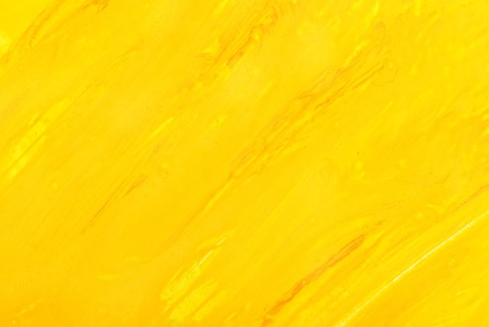 yellow on line: abstract yellow background. watercolor on paper