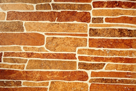 Abstract background from brown stone wall photo