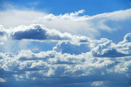 deep blue sky as background Stock Photo - 13211914