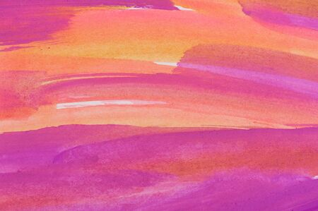 opaque: Abstract pink and yellow background from watercolor