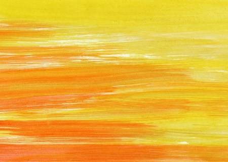 Abstract yellow and red background from watercolor Stock Photo - 15306243