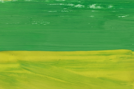Abstract yellow and green background from watercolor Stock Photo - 15306230
