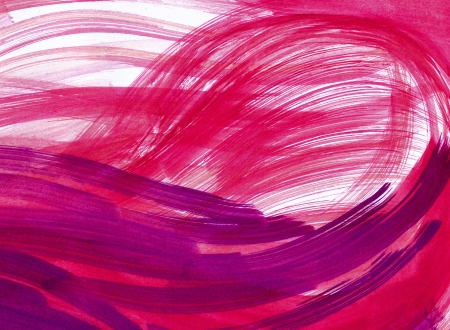 Abstract pink and red background from watercolor Stock Photo - 15355033