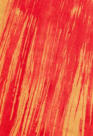 Abstract red background from watercolor Stock Photo - 15355024