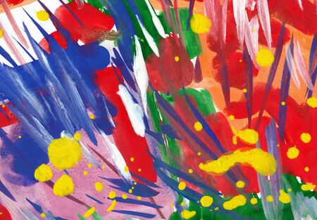 sprightly: abstract bright watercolor background Stock Photo