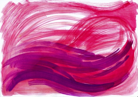 Abstract pink and red background from watercolor Stock Photo - 15775448