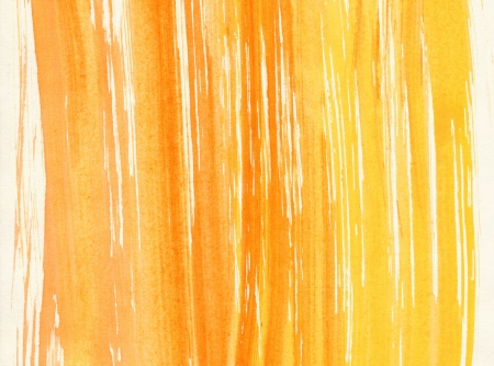 Abstract yellow background from watercolor Stock Photo - 15826680