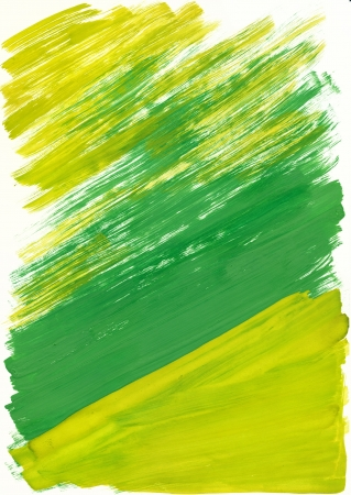 contrast resolution: Abstract yellow and green background from watercolor