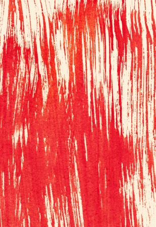 Abstract red background from watercolor Stock Photo - 16879436