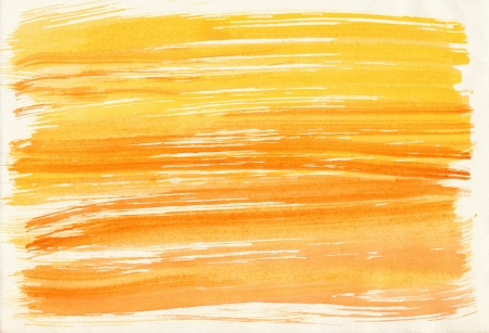 Abstract yellow background from watercolor Stock Photo - 17990080