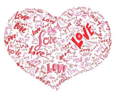 Resultado de imagem para big heart filled with love