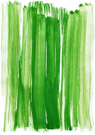 green watercolor stroke as background Stock Photo - 18358108