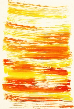 Abstract yellow background from watercolor Stock Photo - 18358109