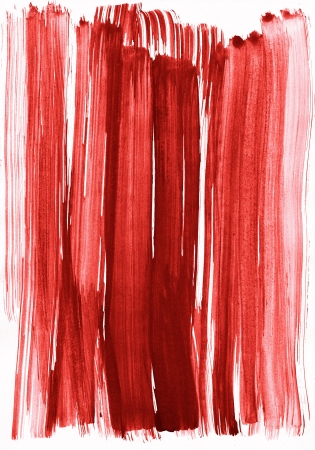 red watercolor stroke as background Stock Photo - 18576705