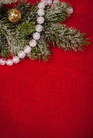 campanas de navidad: decoración del árbol de saco rojo