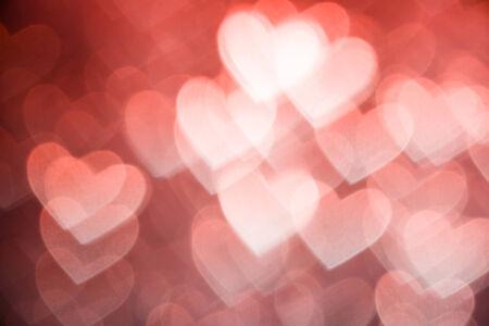 valentine heart: pink heart shape holiday photo background Stock Photo