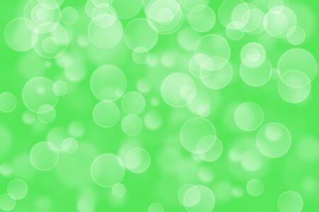 circle shape: green circle shape boke background