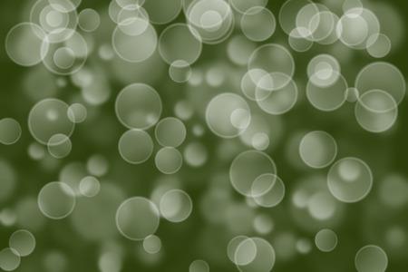 boke: dark green circle shape boke background