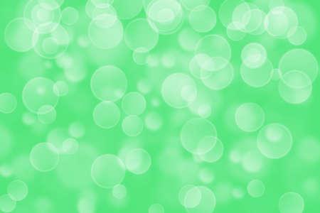 boke: green circle shape boke background