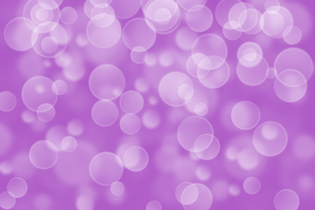 violet circle shape boke as background Stock Photo