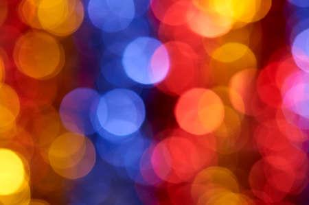 boke: colorful holiday boke photo as background