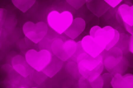 glistening: pink heart shape holiday photo as background Stock Photo