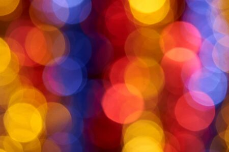 burnish: colorful holiday boke photo as background