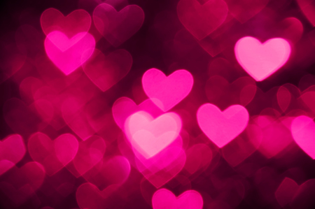 black and pink: heart background photo pink color Stock Photo