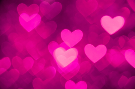 gleam: heart background photo pink color Stock Photo