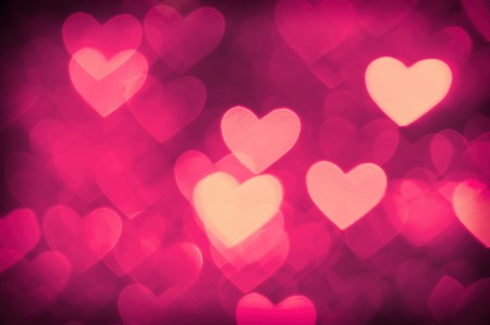 burnish: heart background photo pink color Stock Photo