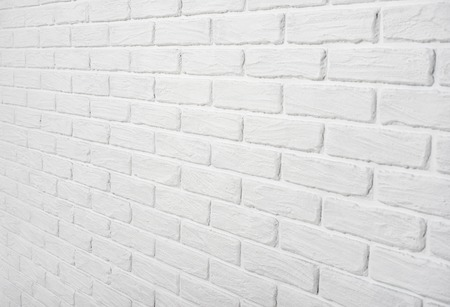 white brick wall abstract background photo Stock Photo