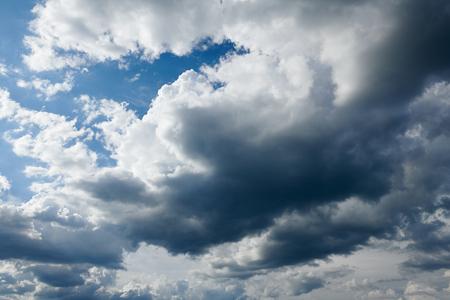 dark stormy sky with clouds