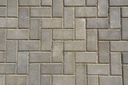 gray paving tile for background or texture 写真素材