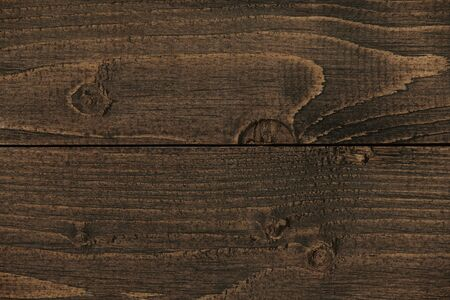 natural dark wood plank backdrop, boards as an abstract background with empty space as a template, wood structure Stock Photo