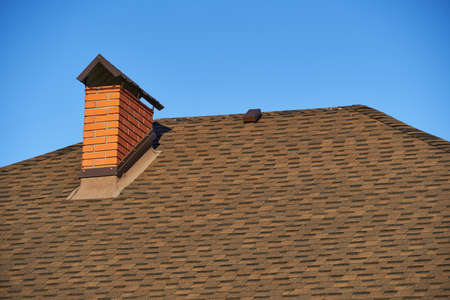 new roof and house under construction