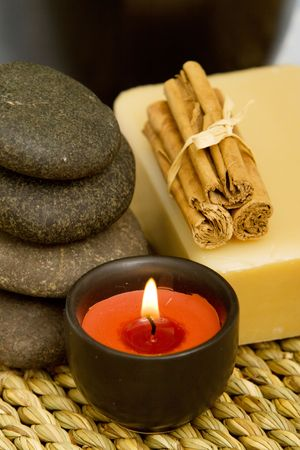 lastone therapy: Lastone therapy stones with spa objects