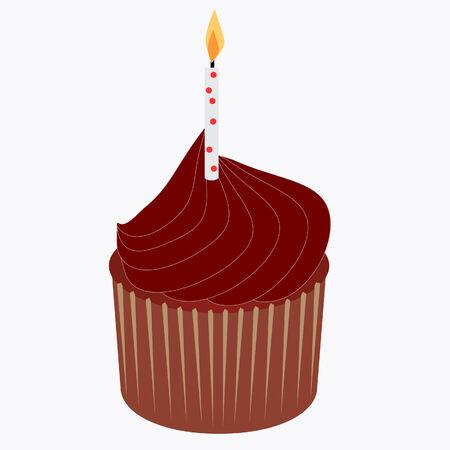 おいしいチョコレート ケーキ誕生日キャンドル