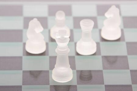 A game of chess Reklamní fotografie - 6810083