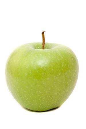 Green apple for healthy eating Фото со стока