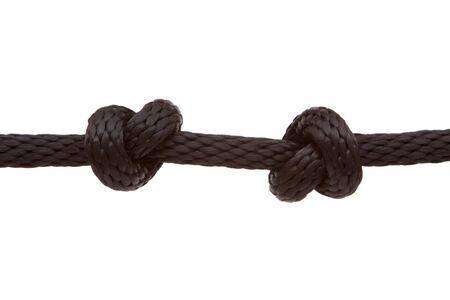 Knot on rope Reklamní fotografie