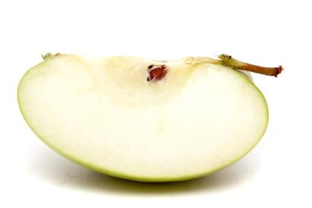 Cut apple for healthy eating Фото со стока