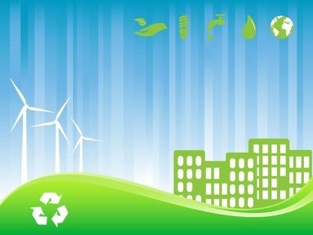 environment friendly: Environment friendly green city
