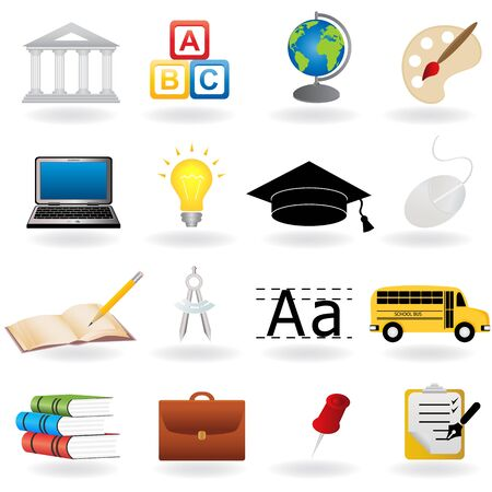 school: School and education related symbols