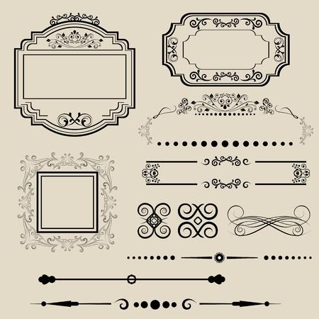 scroll border: Ornamental border and frame designs