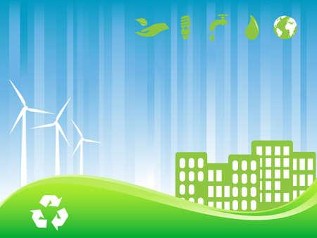 city building: Environment friendly green city